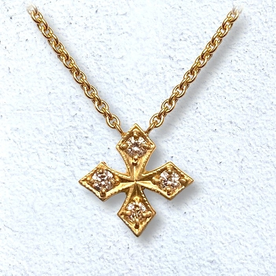 STAR FANCY CROSS NECKLACE
