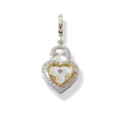 SMALL HEART LOCK PENDANT